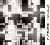 modern stylish halftone texture.... | Shutterstock .eps vector #770308135