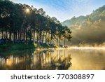 Morning In Pang Ung Lake ...