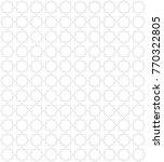 geometric ornament pattern | Shutterstock .eps vector #770322805
