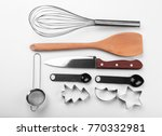set of kitchenware for cooking