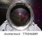 space suit. empty cosmonaut... | Shutterstock . vector #770346889