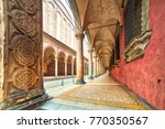 Street Along The Porticoes Of...