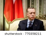athens  greece   december 7 ... | Shutterstock . vector #770358211