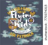 air patrol flying kids crew ...   Shutterstock .eps vector #770374315
