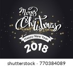 "the handwritten phrase ""merry... 