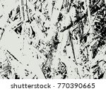 abstract distress floor  white... | Shutterstock .eps vector #770390665