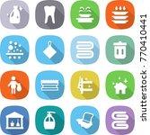 flat vector icon set   cleanser ... | Shutterstock .eps vector #770410441