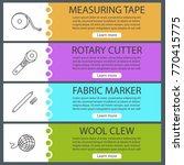 tailoring web banner templates... | Shutterstock .eps vector #770415775
