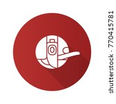 bobbin case flat design long...   Shutterstock .eps vector #770415781