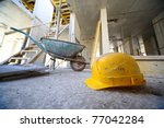 Постер, плакат: Yellow hard hats and