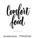 comfort food. the cooking... | Shutterstock .eps vector #770431561
