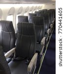 seat on the airplane | Shutterstock . vector #770441605