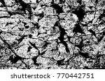 grunge black and white pattern. ... | Shutterstock . vector #770442751