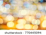 gold  yellow and white tone... | Shutterstock . vector #770445094