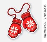 vector illustration. two... | Shutterstock .eps vector #770456611