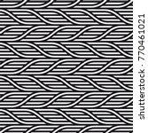 vector seamless pattern. modern ... | Shutterstock .eps vector #770461021