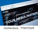 london  uk   december 4th 2017  ...   Shutterstock . vector #770475349