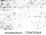 grunge black and white pattern. ... | Shutterstock . vector #770475565