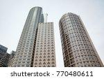 massachusetts skyline towers | Shutterstock . vector #770480611