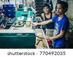 kanchanaburi  thailand   july...   Shutterstock . vector #770492035