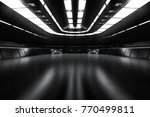 modern future dark background... | Shutterstock . vector #770499811