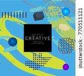 minimal universal banner... | Shutterstock .eps vector #770511121