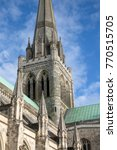 spire  chichester cathedral...   Shutterstock . vector #770515705