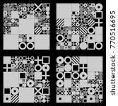 vector minimal covers...   Shutterstock .eps vector #770516695