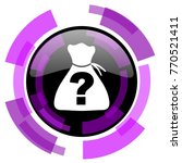 riddle pink violet modern...   Shutterstock .eps vector #770521411