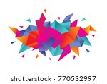 abstract background for... | Shutterstock .eps vector #770532997