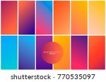abstract geometric background... | Shutterstock .eps vector #770535097