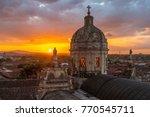 the enlighten dome of the la... | Shutterstock . vector #770545711