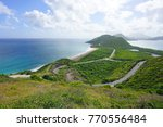 landscape view of the caribbean ... | Shutterstock . vector #770556484
