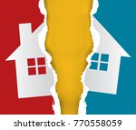 division of immovable property. ... | Shutterstock .eps vector #770558059