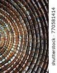 shamanic texture portal  | Shutterstock . vector #770581414
