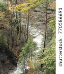 astonishing waterfall in a...   Shutterstock . vector #770586691