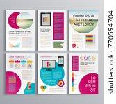 business brochure template... | Shutterstock .eps vector #770594704