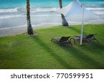 on the beach | Shutterstock . vector #770599951