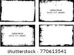 vector frames. rectangles for... | Shutterstock .eps vector #770613541
