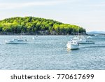 bar harbor  usa   june 8  2017  ... | Shutterstock . vector #770617699
