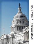 us capitol building  ... | Shutterstock . vector #770624731