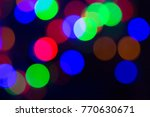 blurred and defocused abstract... | Shutterstock . vector #770630671