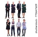 group of people | Shutterstock . vector #770647609