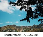 sky and mountain | Shutterstock . vector #770652601