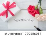mother's day message image ... | Shutterstock . vector #770656057