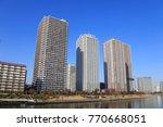 chuo  tokyo  japan november 29  ... | Shutterstock . vector #770668051
