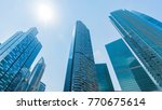 perspective exterior pattern... | Shutterstock . vector #770675614