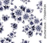abstract elegance seamless... | Shutterstock . vector #770684434
