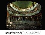 Old Theater  Grunge Textured