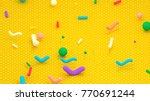 3d rendering picture of... | Shutterstock . vector #770691244
